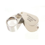 Grandindex Diamond Jewellery Loupe with Illumination LED Light Ge2021i with 20x Magnification,great for Jeweller