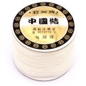 GEM-inside 0.8mm*120 Metres Nylon Handcraft Braid Rattail Cord Chinese Knotting Thread For DIY Bracelet Jwelry Making