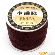 GEM-inside 0.8mm*120 Metres Nylon Handcraft Braid Rattail Cord Chinese Knotting Thread For DIY Bracelet Jwelry Making