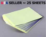 30 Pack Tattoo Stencil Transfer Stencil Carbon Paper 8.5 X 11