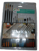 US Art Supply® 15 Piece Multi-Purpose Brush Set