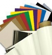 5 Coloured Vinyl Magnet Sheets 22cm x 28cm for Magnetic Crafts