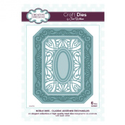 Craft Die CED5501 Sue Wilson Noble Collection - Classic Adorned Rectangles