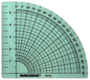 Duroedge 15cm X 90 Degree Ruler / Protractor