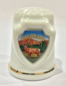 Colorado Souvenir Collectible Lpco Thimble