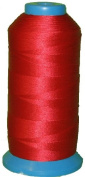 Item4ever® RED Bonded Nylon Sewing Thread #69 T70 1500 Yard for Outdoor, Leather, Upholstery