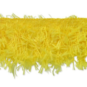 Expo International Hairy Gimp Fringe Trim, 10-Yard, Yellow