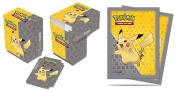 Ultra-Pro Pokemon Card Sleeves & Deck Box Set ft. Pikachu [1 Box, 65 Sleeves]