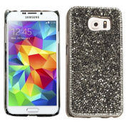 Silver Bling Rhinestone Diamond Crystal Case Cover For for Samsung Galaxy S 6 S6