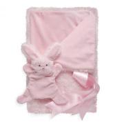 North American Bear Company Smushy Bunny Blanket, Pink