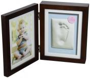 Pearhead Babyprints Desk Frame, Espresso