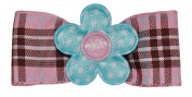 Bow Allure Fern Park No Slip Hair Bow For Toddler, Girls, Pink, Brown, Blue