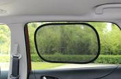Lukling EZ Pop Open Car Sun Shade, 2 Count
