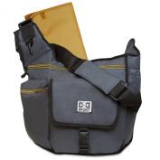Nappy Dude Sport Bag by Chris Pegula - Grey Sling Messenger Nappy Bag