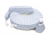 Zenoff Products Nursing Pillow Slipcover, Dotted, Grey, Blue