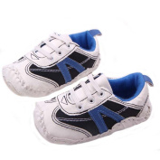 ELee Baby Infant Non Slip Rubber Soft-sole Sneakers Toddler Shoes Lace up Loafers