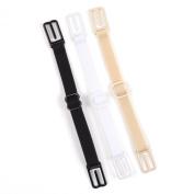KLOUD City® 3 Pcs Non-slip Women's Elastic Bra Strap Holder