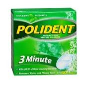 Polident Polident 3-Minute Antibacterial Denture Cleanser, 40 tabs