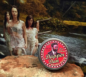 Dapper Dan Beard Balm By 7 Sins Beard Oil 60ml Tin Sandalwood Fir Pine Scent
