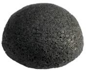 InstaSkincare Black Konjac Sponge - Premium Facial Sponge