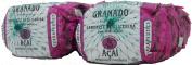 Linha Terrapeutics Granado - Sabonetes em Barra Acai (12 x 90 Gr) - (Granado Terrapeutics Collection - Acai Bar Soaps Net