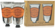 Naturally European Neroli & Tangerine Luxury Hand And Foot Cream Gift Set 2 x 75ml