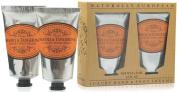 Naturally European Neroli & Tangerine Luxury Hand And Foot Cream Gift Set 2 x 75ml