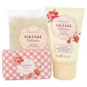 Heathcote & Ivory Vintage Mimosa & Pomegrante Hand & Bath Beauty Box