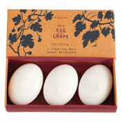 Di Palomo Wild Fig And Grape Cleansing Bars 3 x 50g