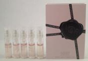 5 Viktor & Rolf Flowerbomb EDP Spray Sample Vial .05 Oz/1.5 Ml Each for Women