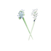 Ayygift 5pcs Multiple Styles Hair Pin with Rhinestone Ancient Chinese Court Tassel Hair Sticks