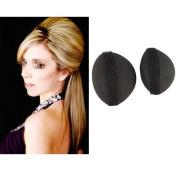 MERSUII™ Fashion Women Girls 2PCS Sponge Volume Hair Base Clip Stick Bun Maker Braid Tool Hair Accessories