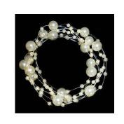 Acxico Beautiful Gypsophila Pearl Bridal Headwear Wedding Hair Decoration