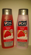 Alberto V05 Moisture Milks Strawberries & Cream Moisturising Shampoo & Conditioner Set
