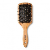 Evolve Naturally Straightening Combo Eco-Friendly Natural Bamboo Brush