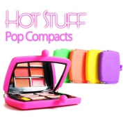 Hot Stuff Go Pop Compact by Jerome Alexander,lip gloss+eye shadows