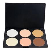 LeexGroup® Professional Professional 6 Colour Contour Face Powder Makeup Concealer Palette