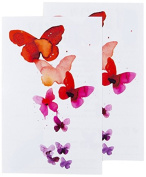 Tattly Temporary Tattoos, Coral Butterflies, 5ml