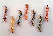 Stick On Ornament Bridal Bindi Forehead Stickers Body Art Tattoo Jewellery Bellydance - #04
