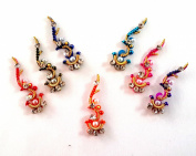Stick On Ornament Bridal Bindi Forehead Stickers Body Art Tattoo Jewellery Bellydance - #02