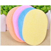 Addfavor 2 PCS Facial Cleansing Puff Makeup Sponge Exfoliating Beauty Face Sponges Makeup Tools for Women, Soft