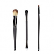 ON & OFF East Meets West Collection Colour Lay Down, Duo Fluff/Conceal and Precise Angle Line Brush Set