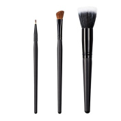 ON & OFF East Meets West Collection Firm Liner, Large Angle Shader and Stipple Brush Set