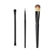 ON & OFF East Meets West Collection Duo Fluff/Conceal, Firm Liner and Colour Lay Down Brush Set