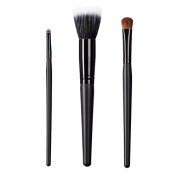 ON & OFF East Meets West Collection Small Detailer, Stipple and Large Oval Shader Brush Set