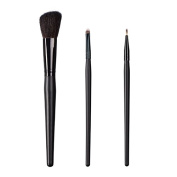ON & OFF East Meets West Collection Slanted Cheek, Small Detailer and Firm Liner Brush Set
