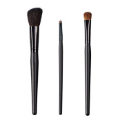 ON & OFF East Meets West Collection Slanted Cheek, Small Detailer and Large Oval Shader Brush Set