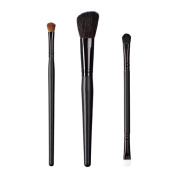ON & OFF East Meets West Collection Shadow Fluff, Slanted Cheek and Duo Fluff/Conceal Brush Set