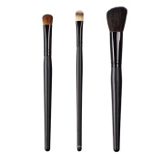 ON & OFF East Meets West Collection Large Oval Shader, Large Concealer and Slanted Cheek Brush Set