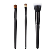 ON & OFF East Meets West Collection Large Oval Shader, Large Concealer and Stipple Brush Set